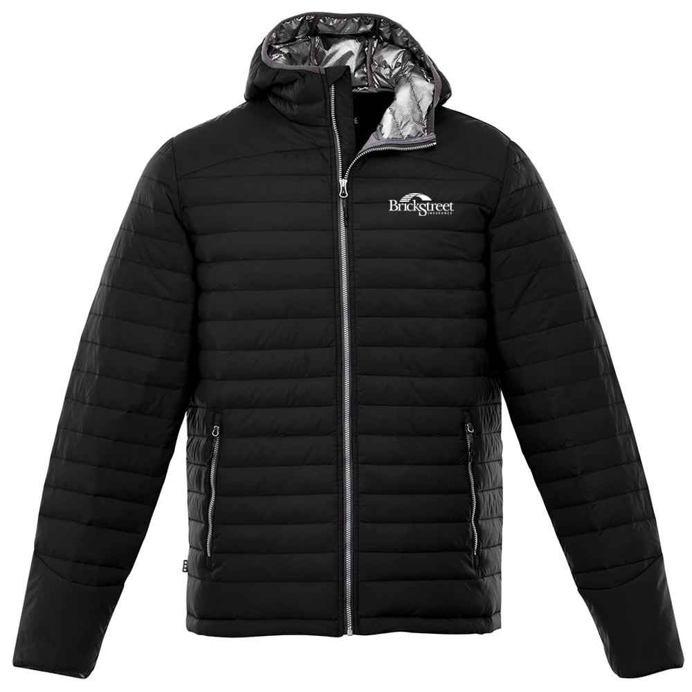 Elevate® Men's Silverton Packable Insulated Jacket - Embroidery Personalization Available