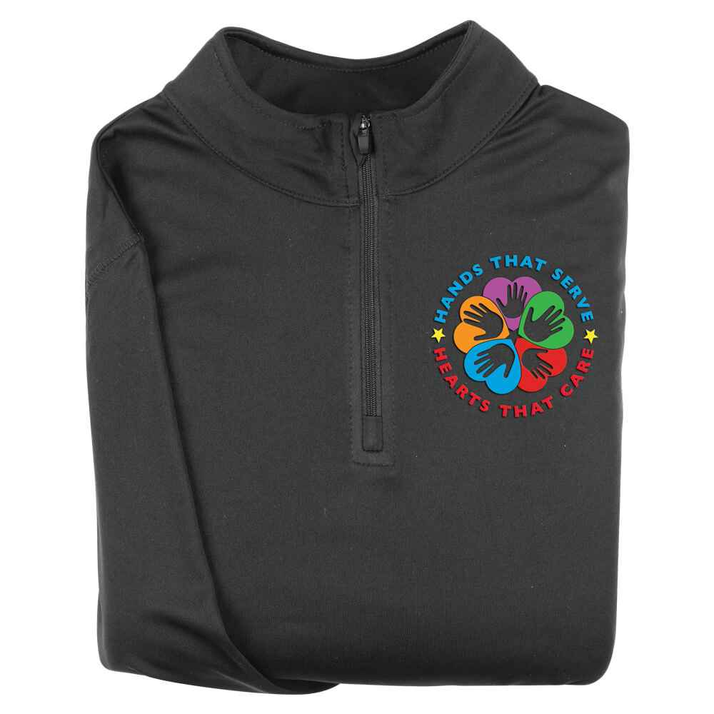 Hands That Serve, Hearts That Care Augusta® Attain Quarter Zip - Personalization Available