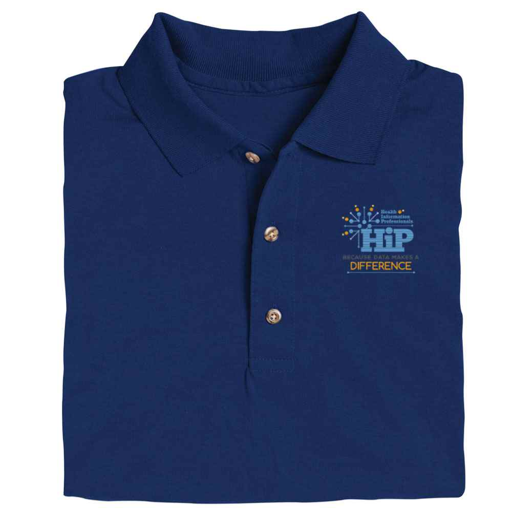 Health Information Professionals Gildan® DryBlend Jersey Polo - Personalization Available