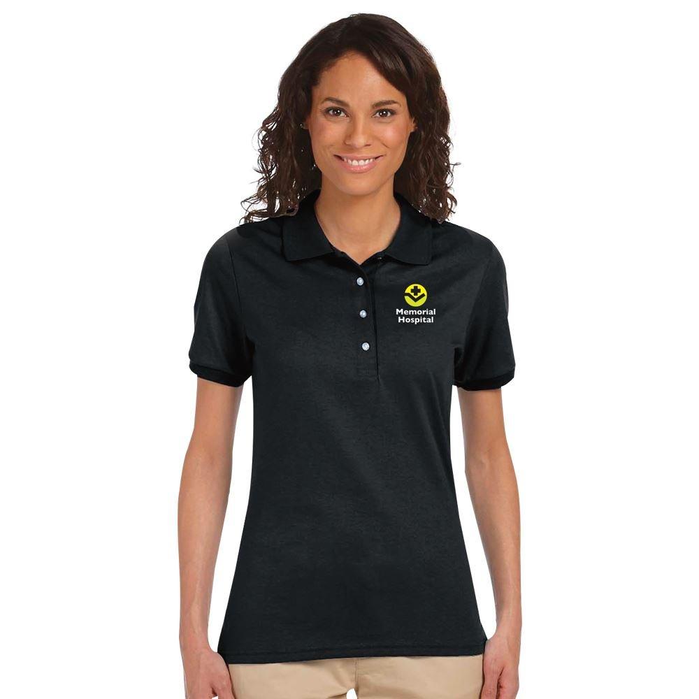 Jerzees® Spotshield™ Women's 50/50 Sport Shirt - Personalization Available