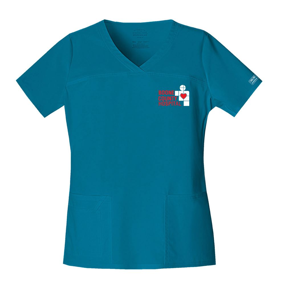 Cherokee® Core Stretch Women's V-Neck Top - Personalization Available