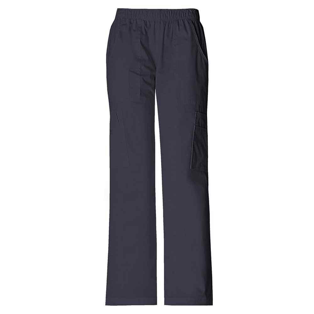 Cherokee® Women's Mid Rise Pull-On Cargo Scrub Pant
