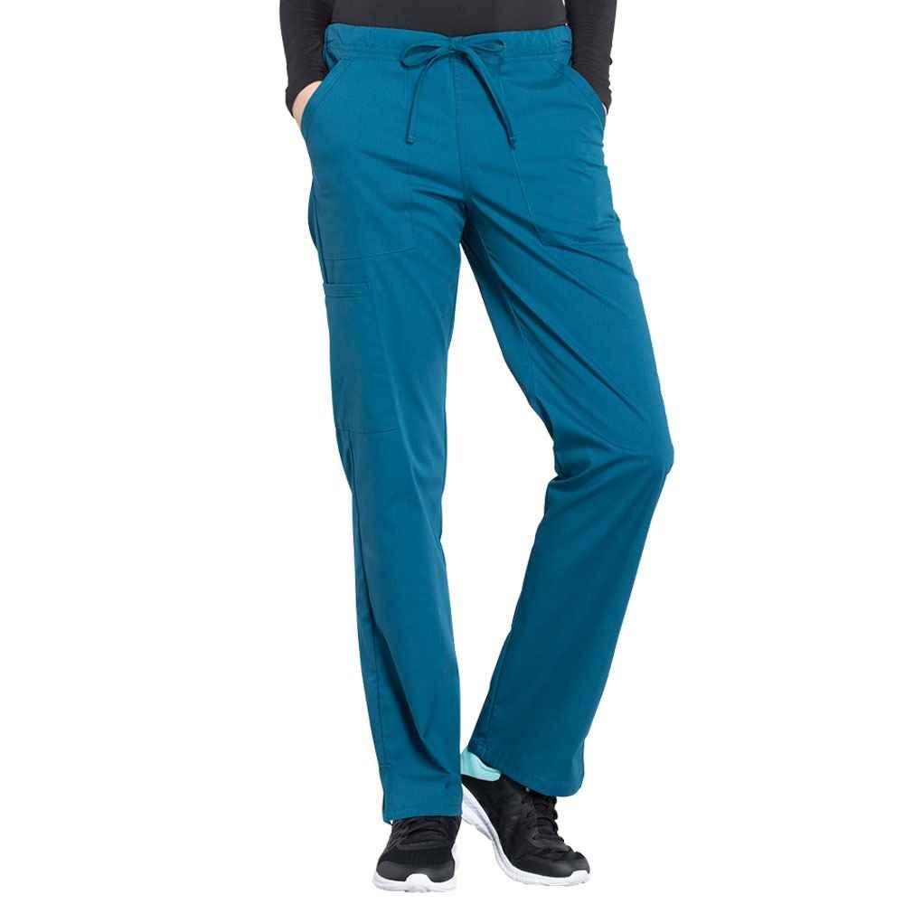 Cherokee® Women's Mid Rise Straight Leg Drawstring Scrub Pant