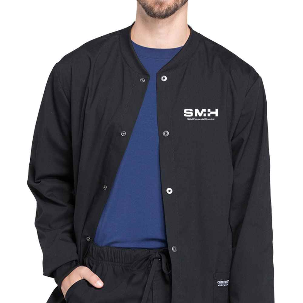 Cherokee® Workwear Professional Men's Warm-Up Jacket - Embroidered Personalization Available