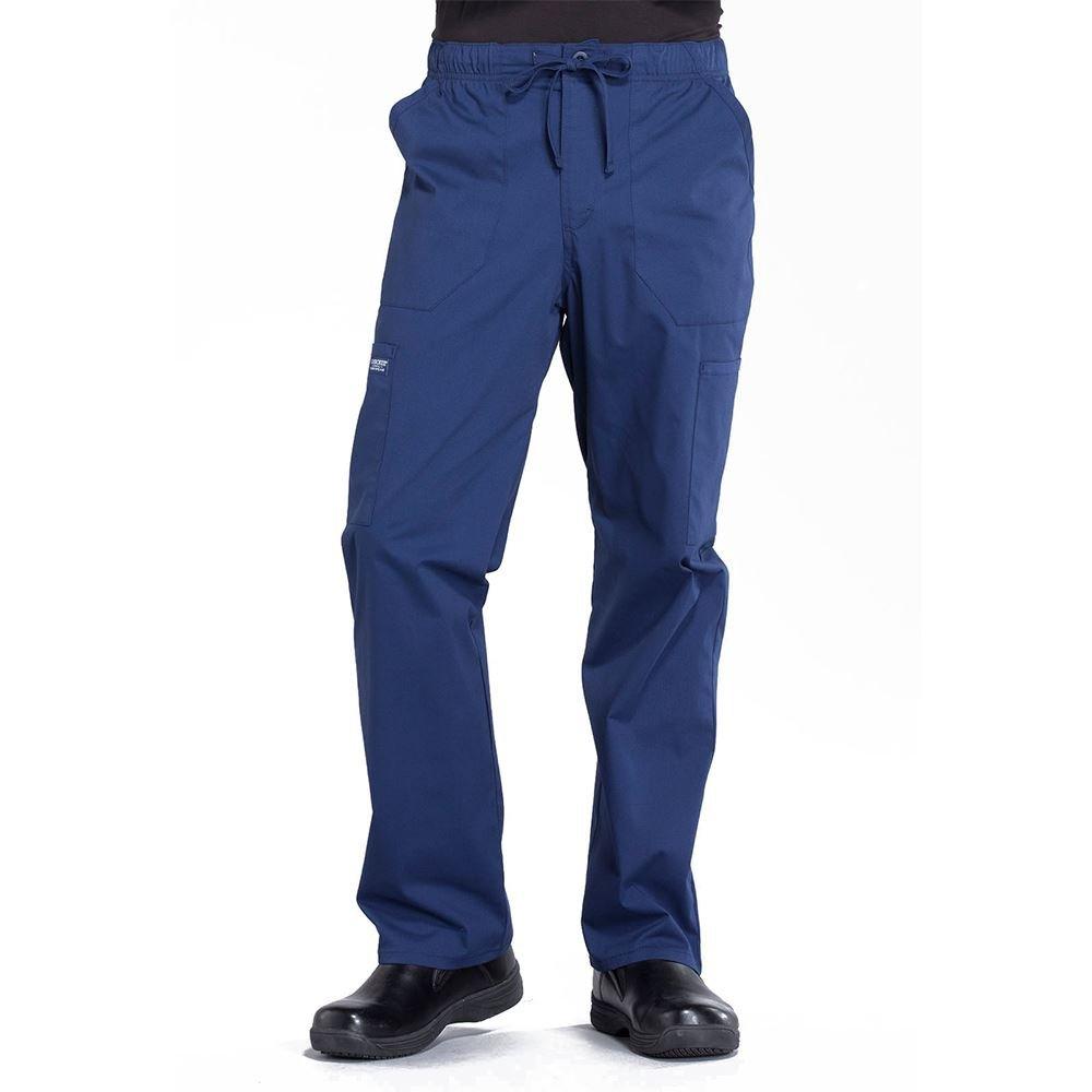 Cherokee® Tapered 5 Pocket Leg Drawstring Cargo Scrub Pant