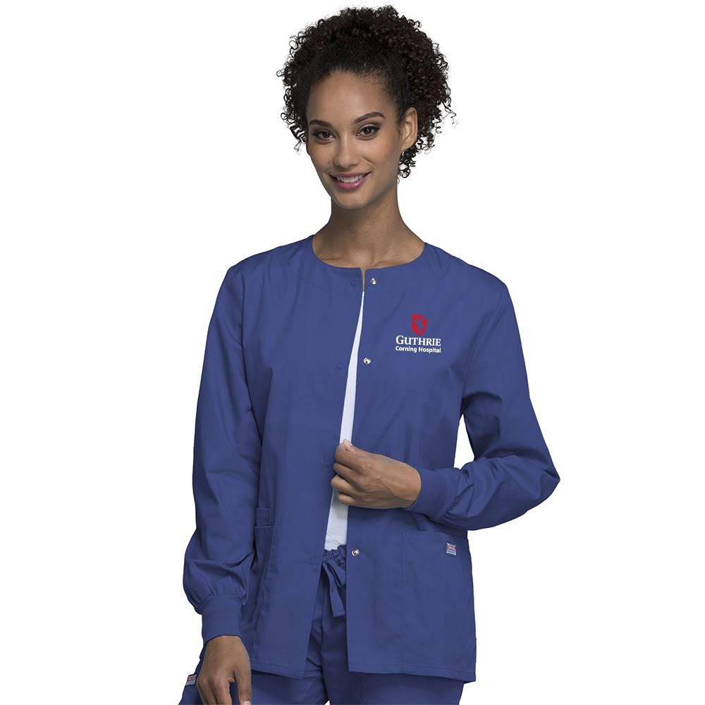 Cherokee® Originals Women's Snap Front Warm-Up Jacket - Personalization Available