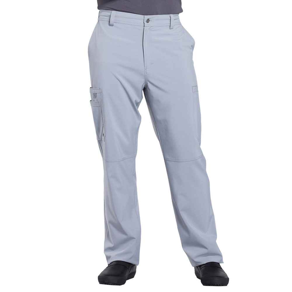 Cherokee® Men's Infinity Fly Front Scrub Pant with Antimicrobial Additive - Personalization Available