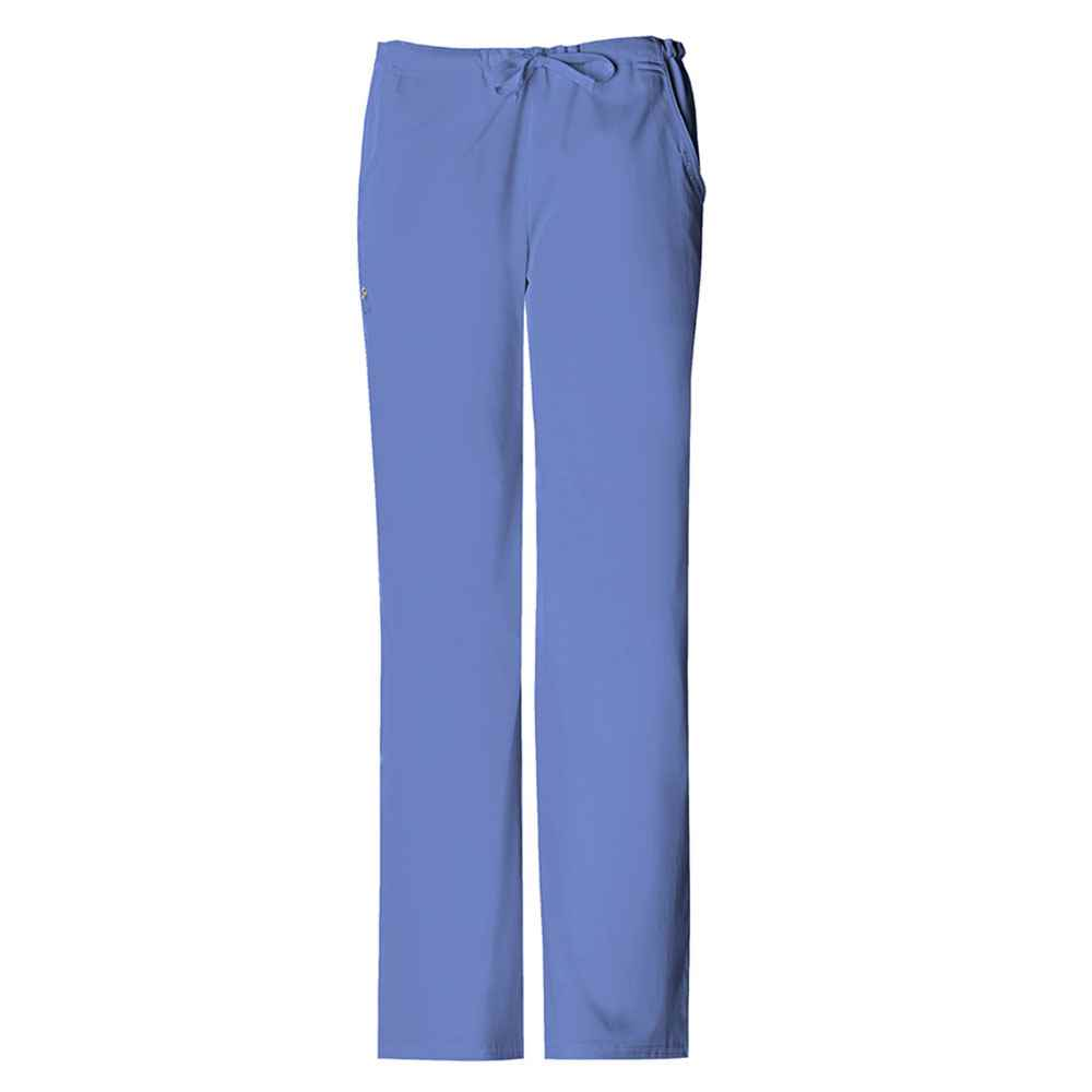 Cherokee® Luxe Women's Low Rise Straight Leg Drawstring Pant
