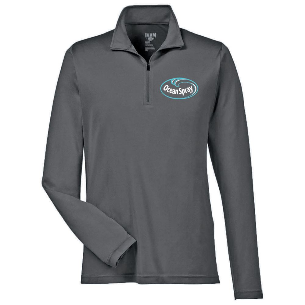 Team 365® Men's Zone Performance Quarter-Zip - Personalization Available