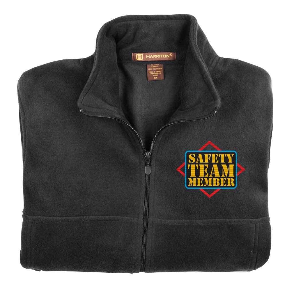 Safety Team Member Harriton® Fleece Full-Zip Jacket - Personalization Optional