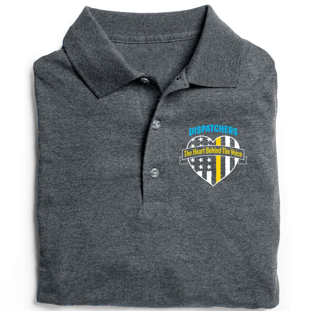 Dispatchers: The Heart Behind The Voice Gildan® DryBlend Jersey Polo - Personalization Available