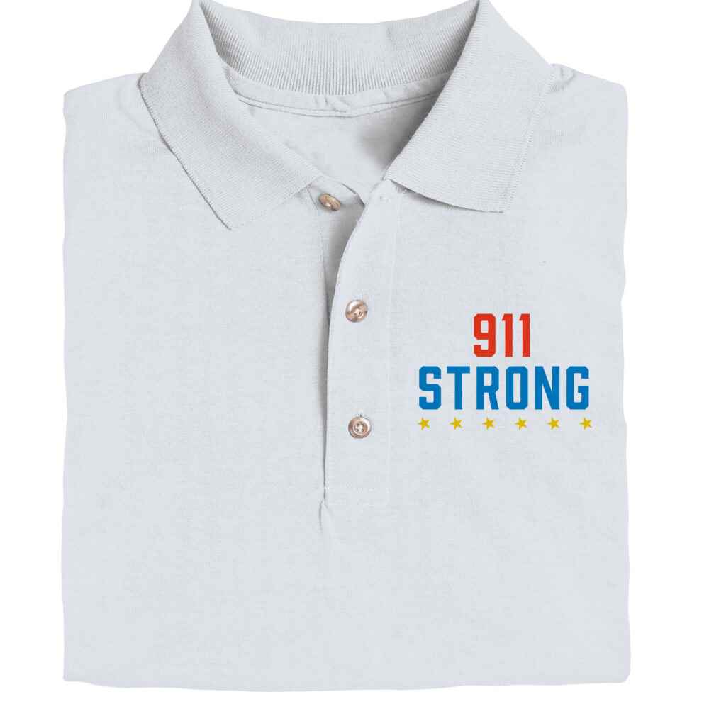 911 Strong Gildan® DryBlend Jersey Polo - Personalization Optional