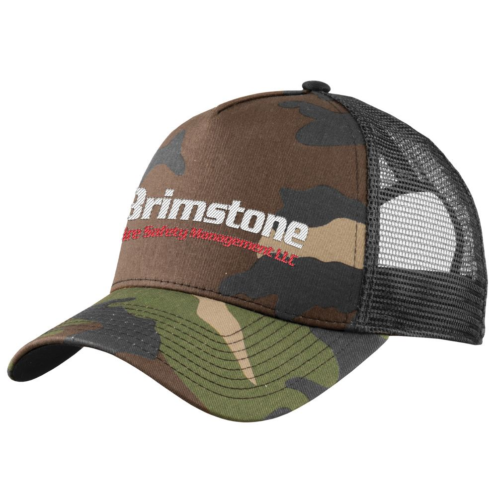 New Era® Snapback Mesh Trucker Cap - Embroidery Personalization Available