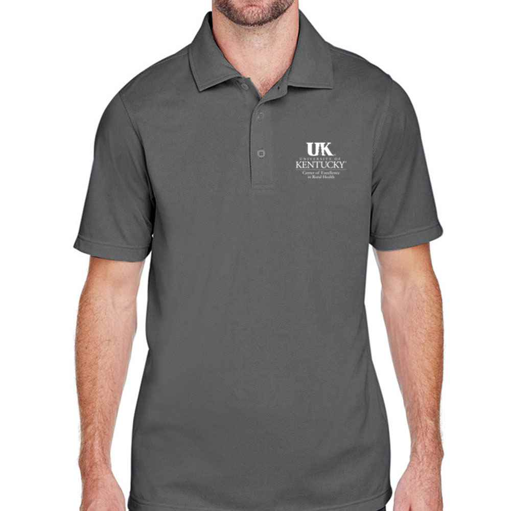 UltraClub® Men's Cavalry Twill Performance Polo - Personalization Available
