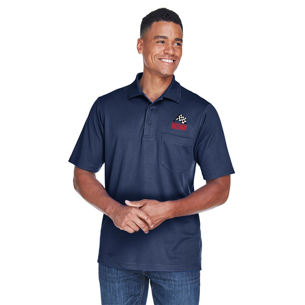 Ash City Core 365® Men's Origin Performance Pique Polo With Pocket - Personalization Available