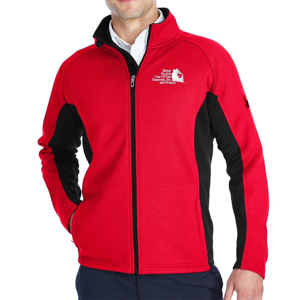 Spyder Men's Constant Full-Zip Sweater Fleece - Personalization Available