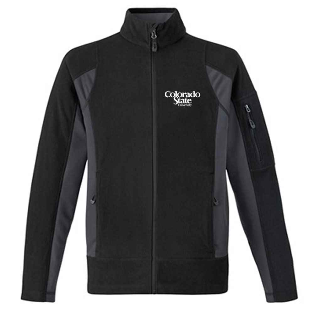 Ash City North End® Men's Generate Textured Fleece Jacket - Personalization Available