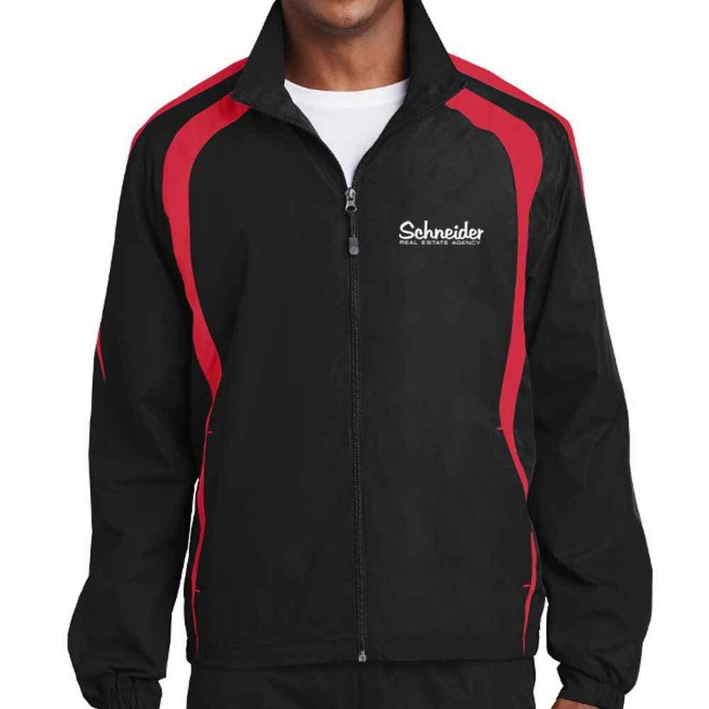 Sport-Tek® Adult Colorblock Raglan Jacket - Personalization Avaialble