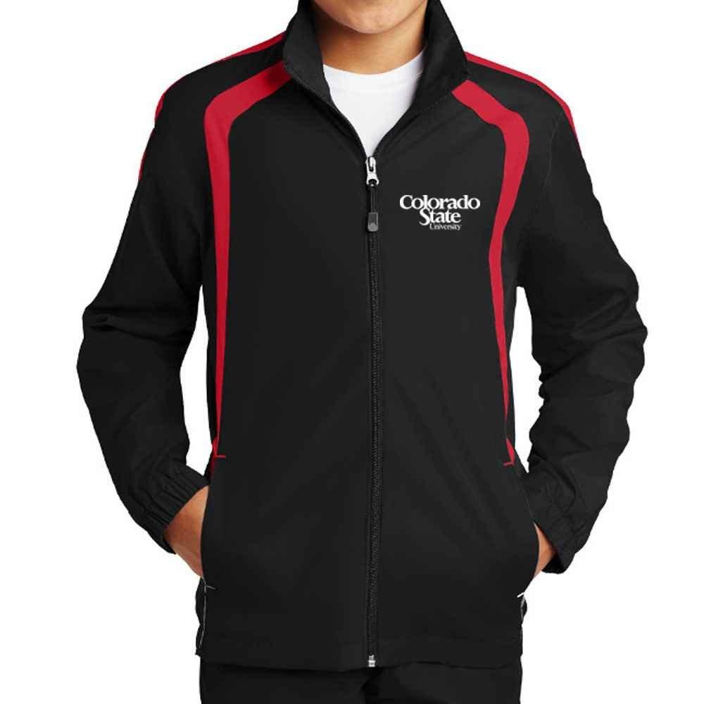 Sport-Tek® Youth Colorblock Raglan Jacket - Personalization Available
