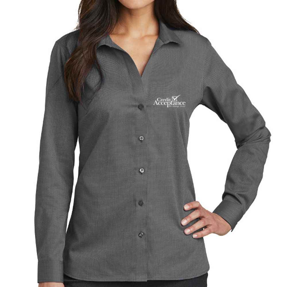 Red House® Ladies' Nailhead Non-Iron Shirt - Personalization Availble