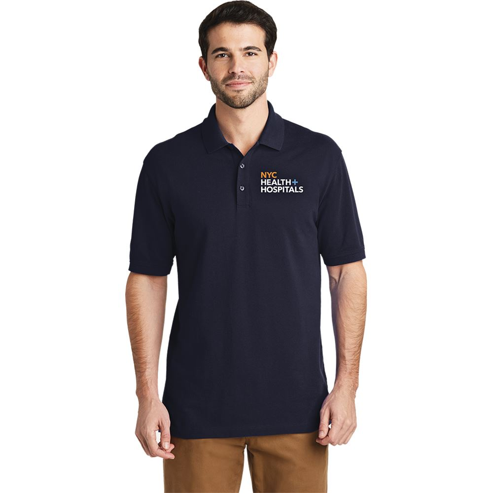 Port Authority® Men's EZCotton™ Short Sleeve Polo - Embroidery Personalization Available