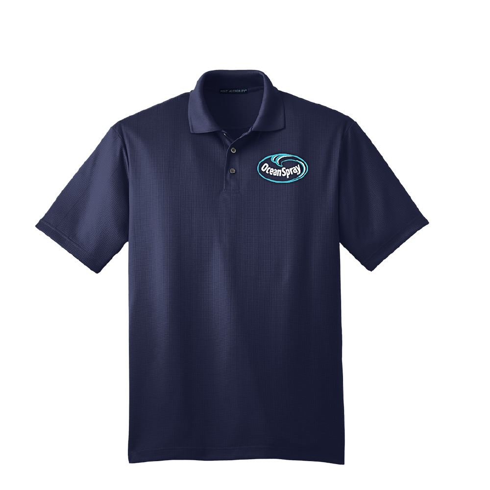 Port Authority® Men's Performance Fine Jacquard Polo - Embroidery Personalization Available