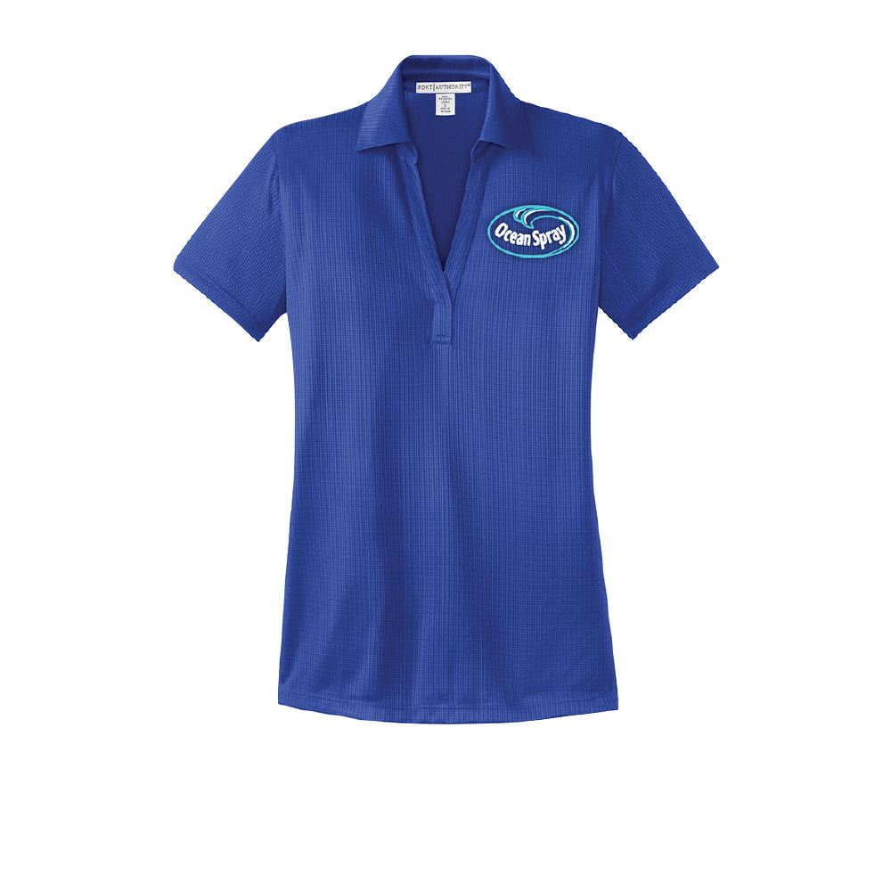 Port Authority® Ladies Performance Fine Jacquard Polo - Personalization Available