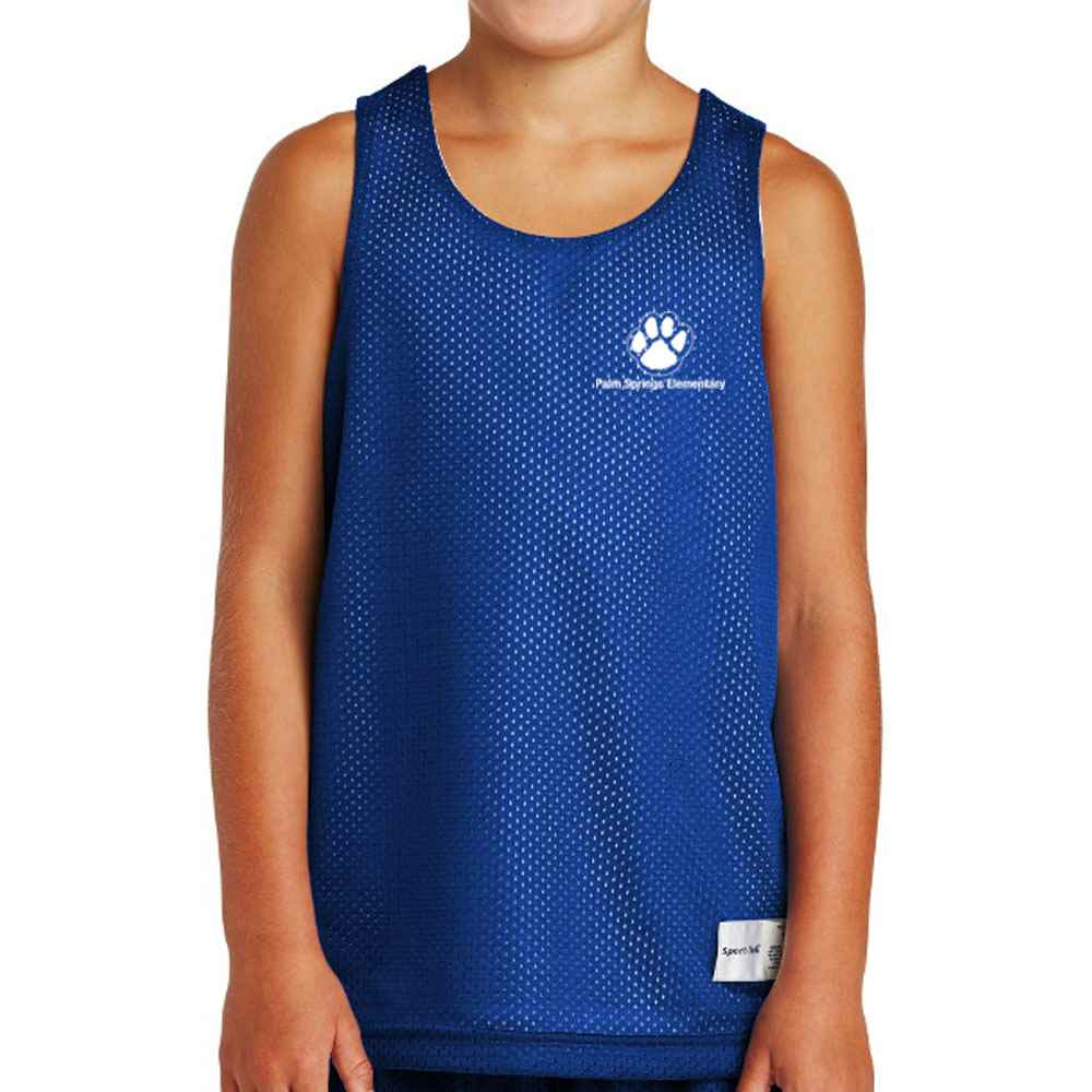 Sport-Tek® Youth PosiCharge® Classic Mesh Reversible Tank - Personalization Available