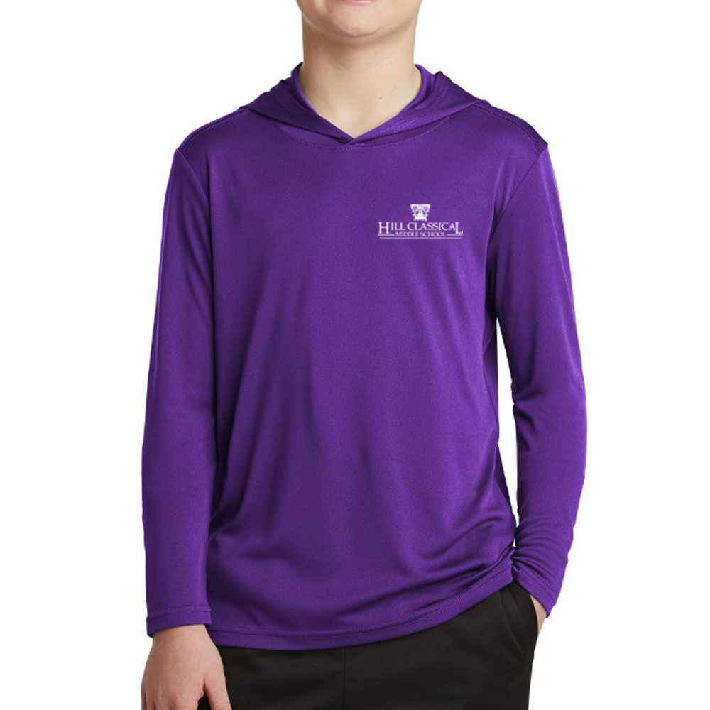 Sport-Tek® Youth PosiCharge® Competitor™ Hooded Pullover - Personalization Available