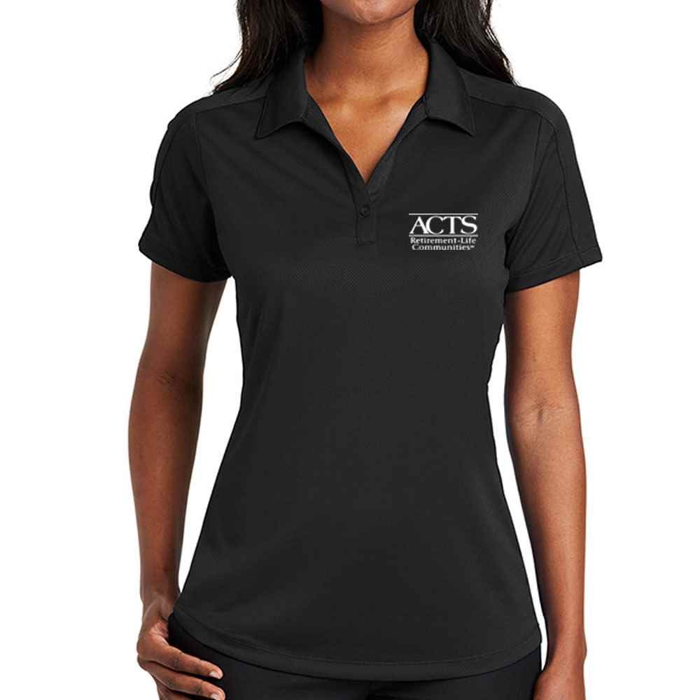 Port Authority® Ladies Diamond Jacquard Polo - Embroidery Personalization Available