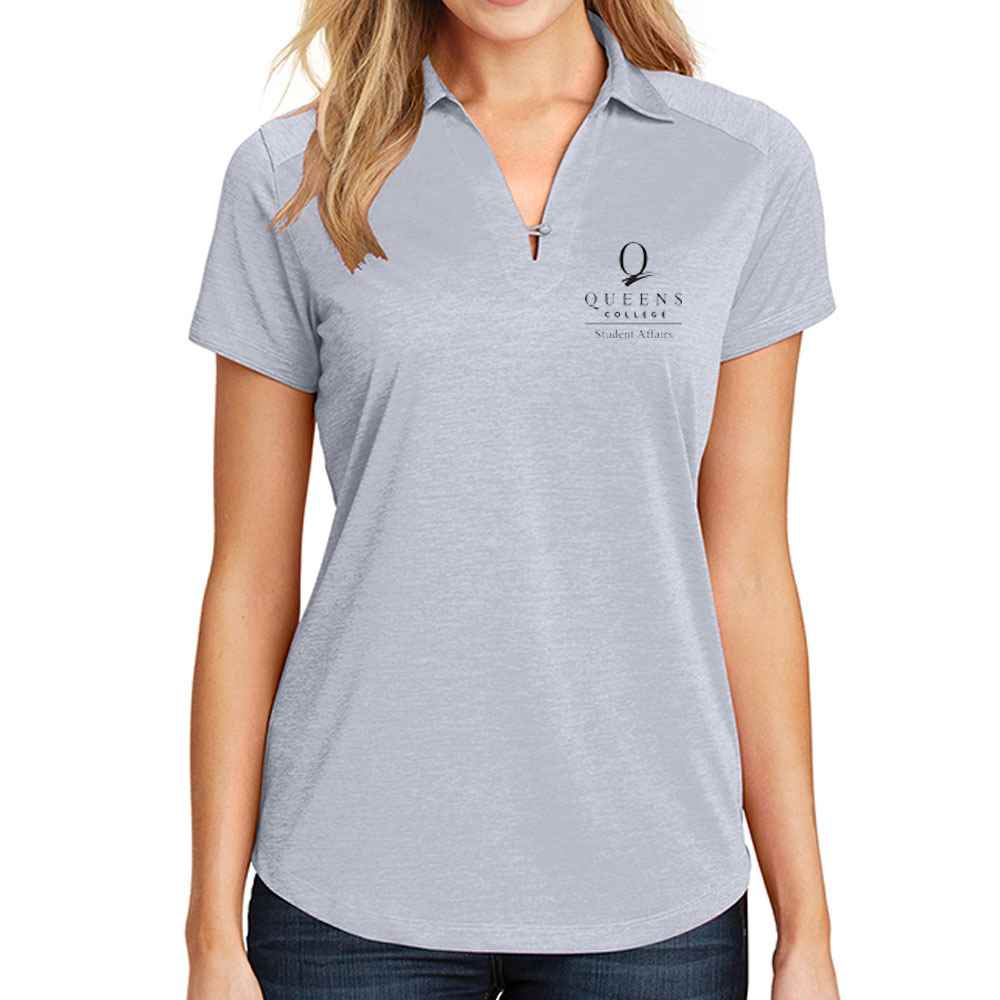 Port Authority® Ladies Digi Heather Performance Polo - Embroidery Personalization Available