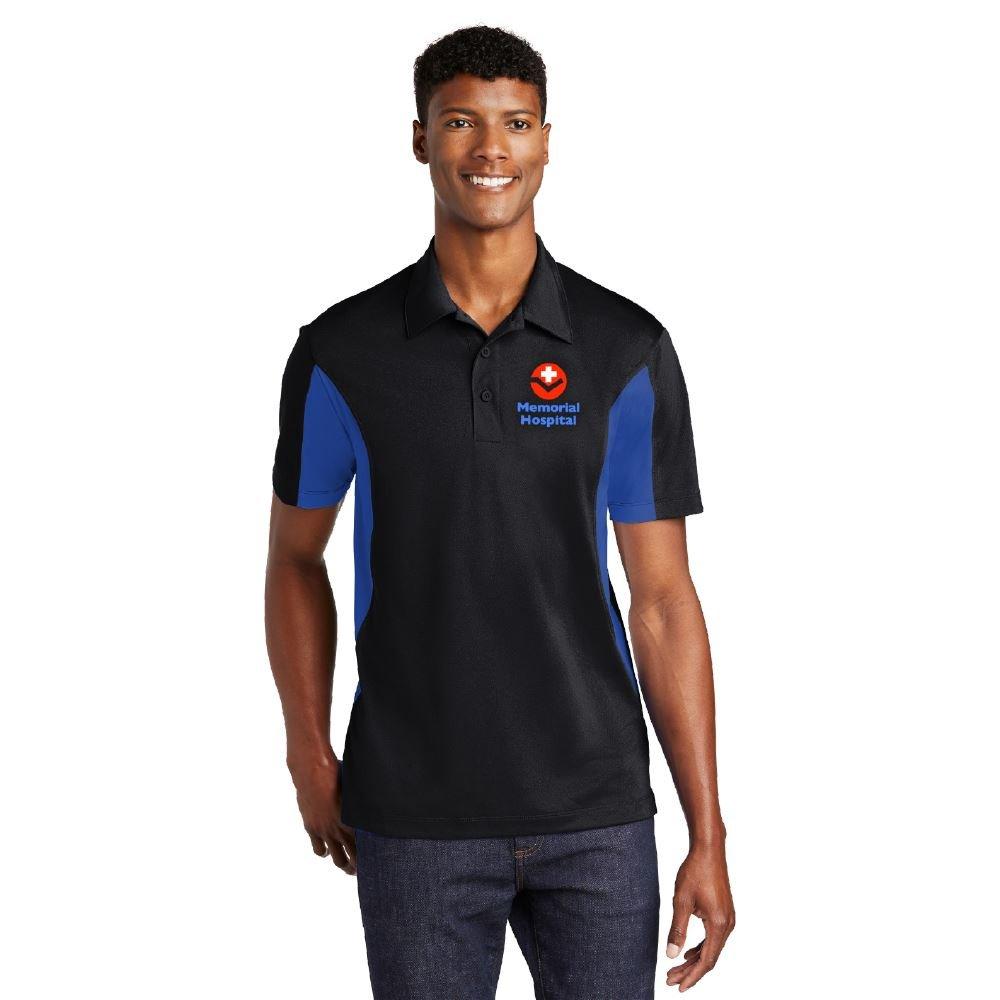 Sport-Tek® Men's Side Blocked Micropique Sport-Wick® Polo - Personalization Available