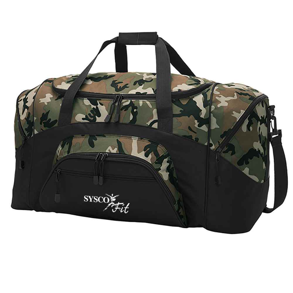 Port Authority® Standard Colorblock Sport Duffel - Personalization Available