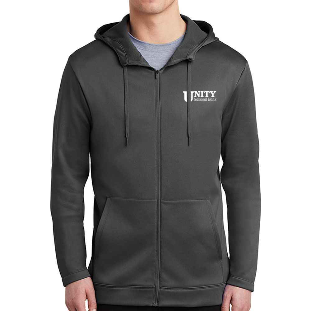 Nike® Therma-FIT Full-Zip Fleece Hoodie - Personalization Available