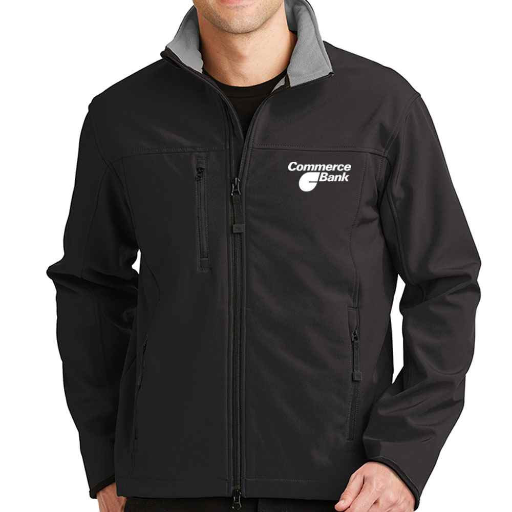 Port Authority® Men's Glacier® Soft Shell Jacket - Personalization Available