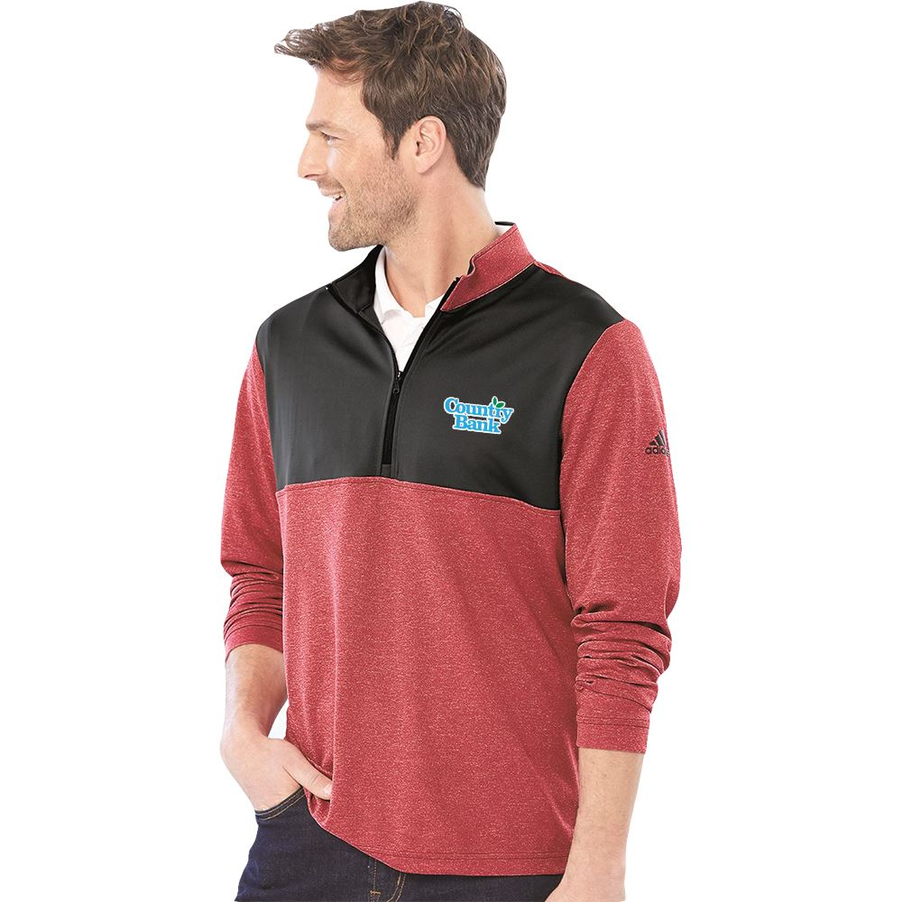 Adidas® Men's Lightweight UPF Pullover - Embroidery Personalization Available