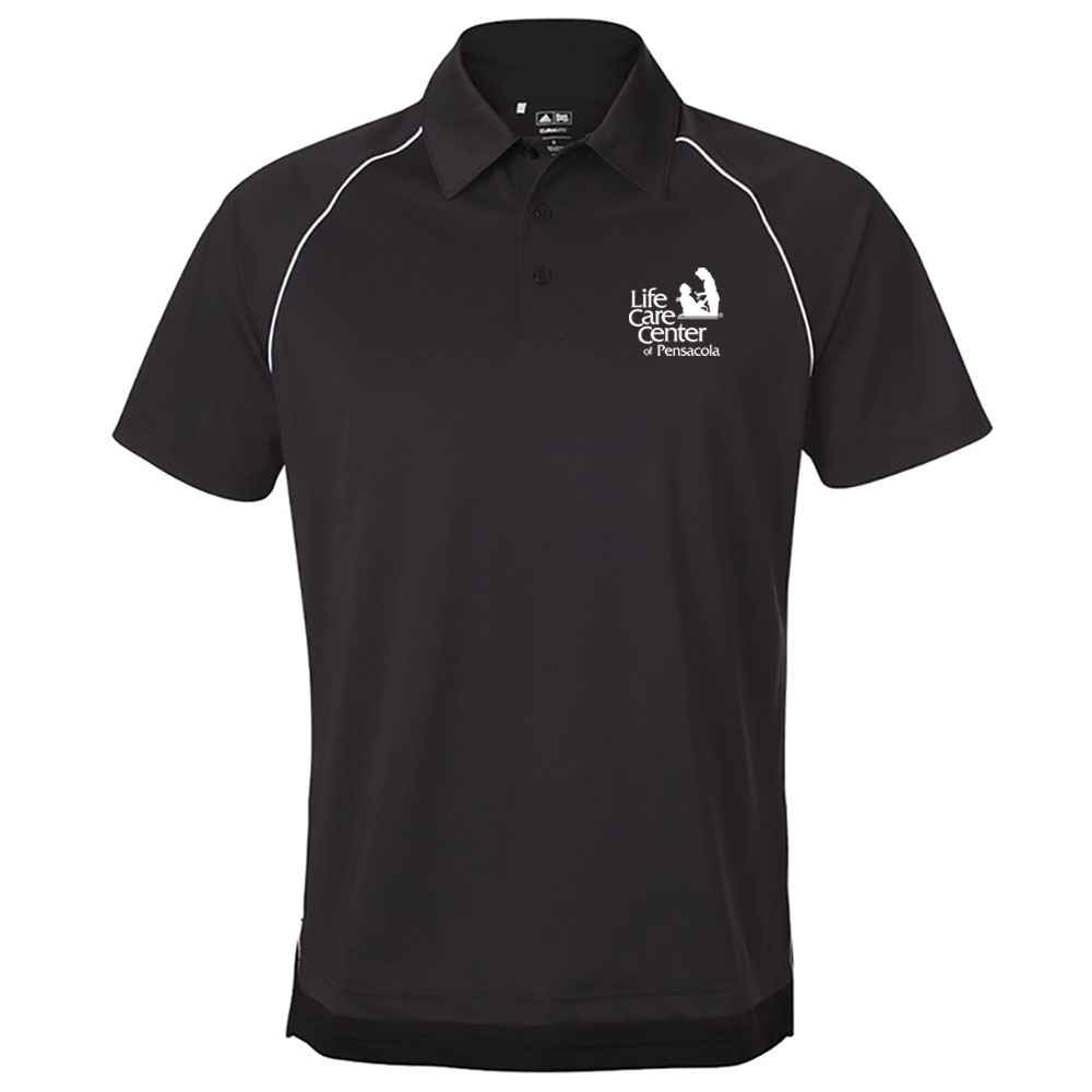 Adidas® ClimaLite® Piped Polo - Personalization Available