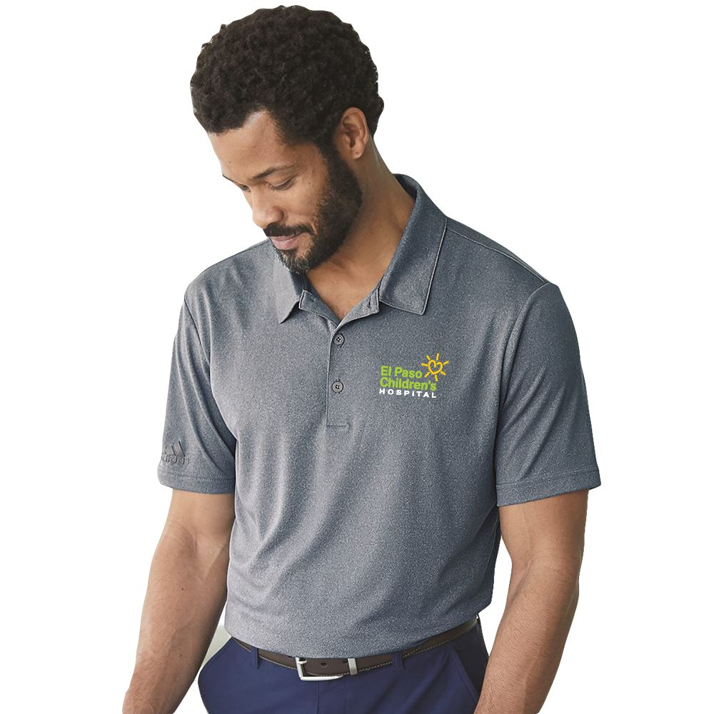 adidas® Men's Heather Sport Shirt - Personalization Available