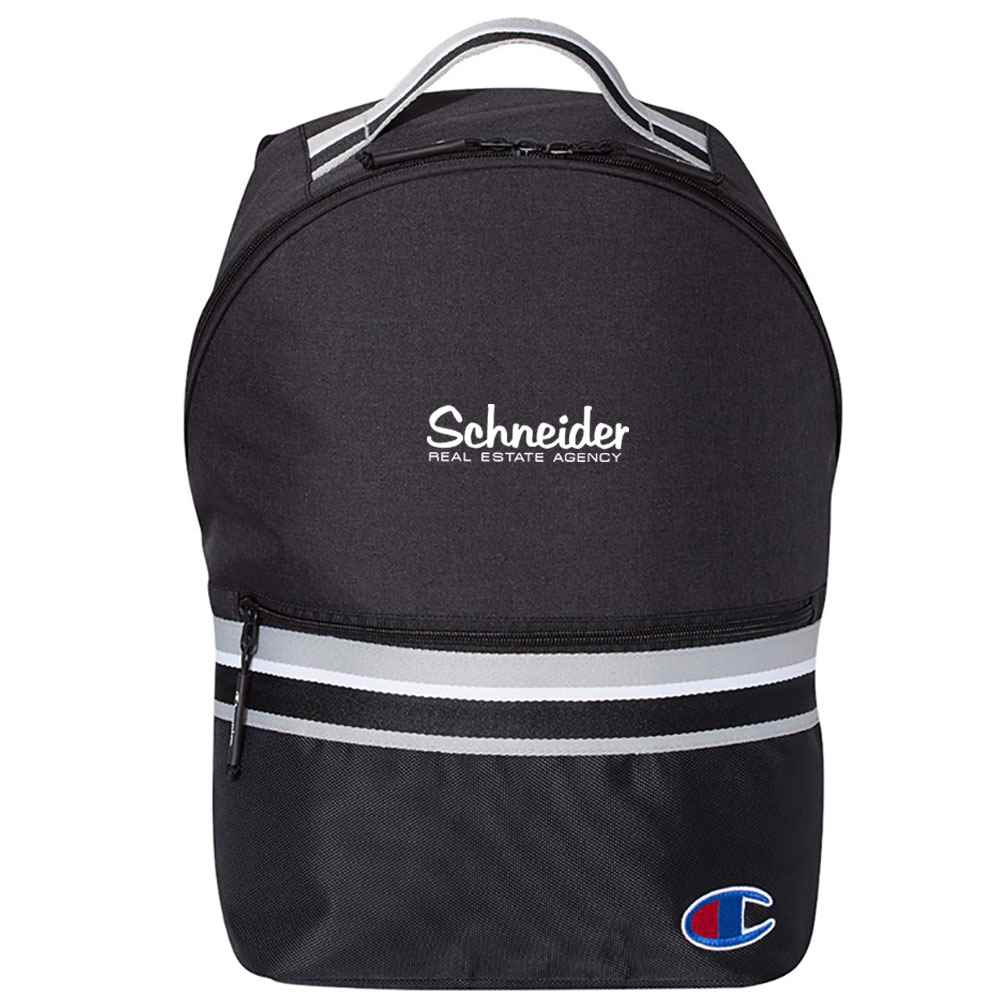 Champion® 23L Striped Backpack - Personalization Available