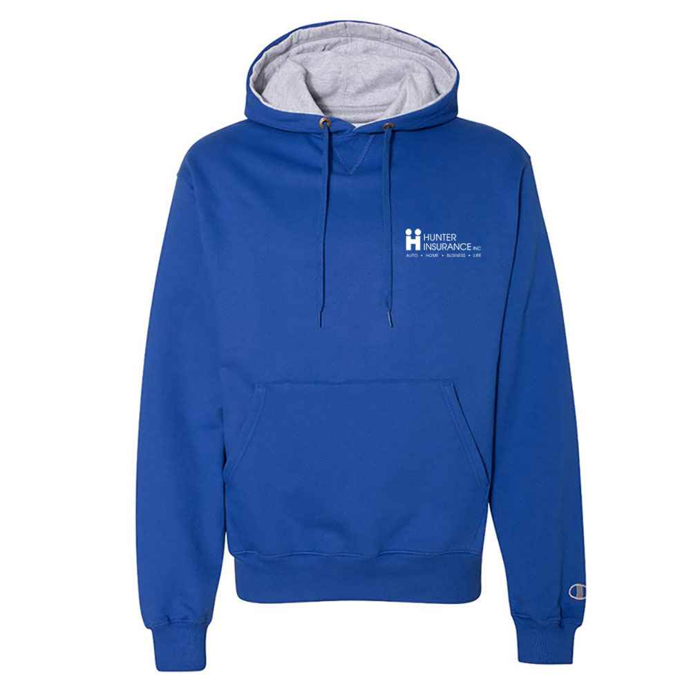 Champion® Cotton Max Hooded Sweatshirt - Personalization Available