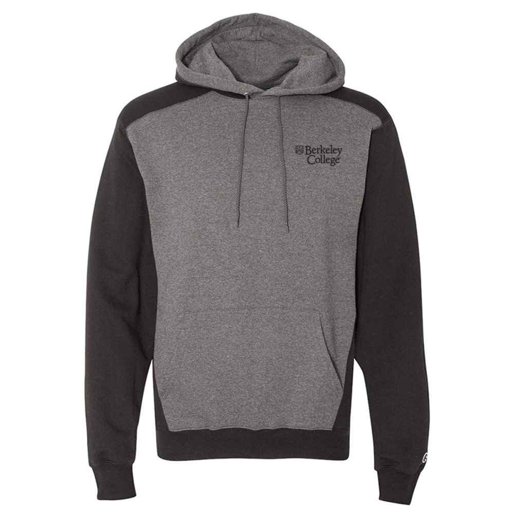 Champion® Double Dry Eco Colorblocked Hooded Sweatshirt - Personalization Available