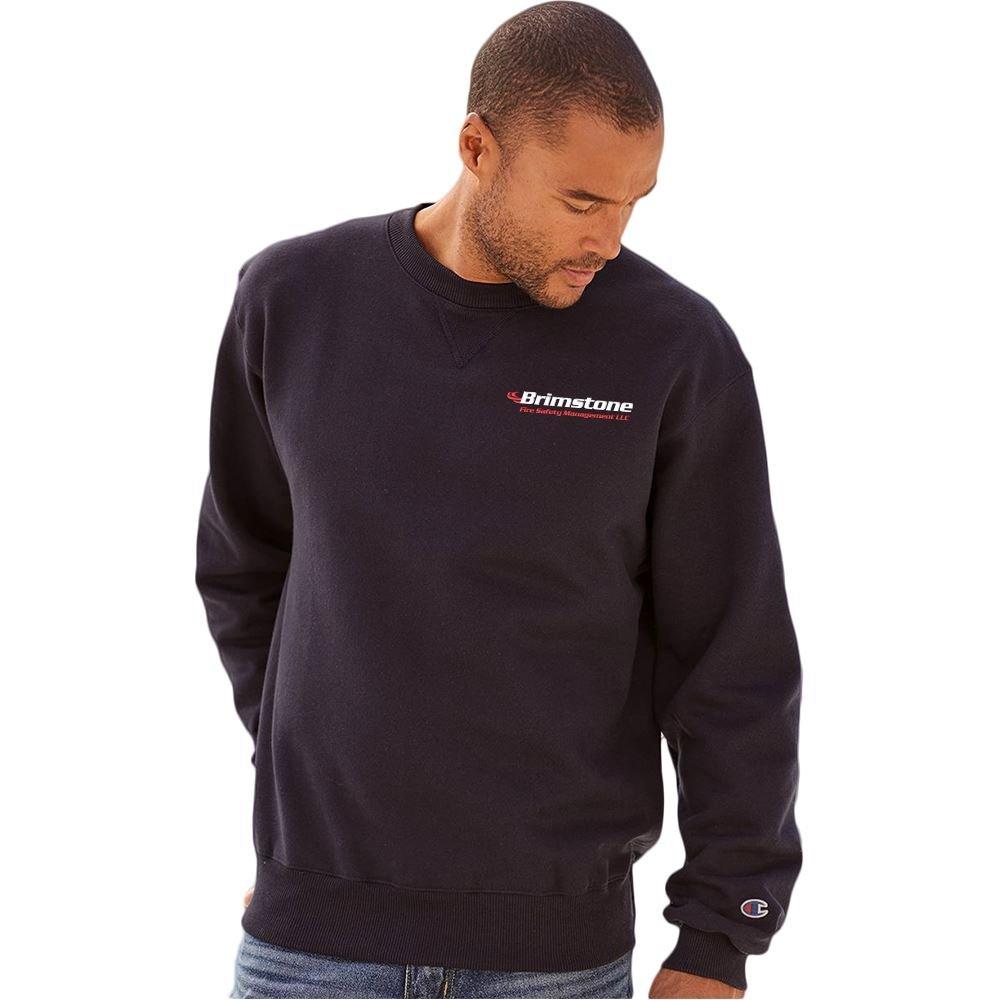 Champion® Cotton Max Crewneck Sweatshirt - Personalization Available