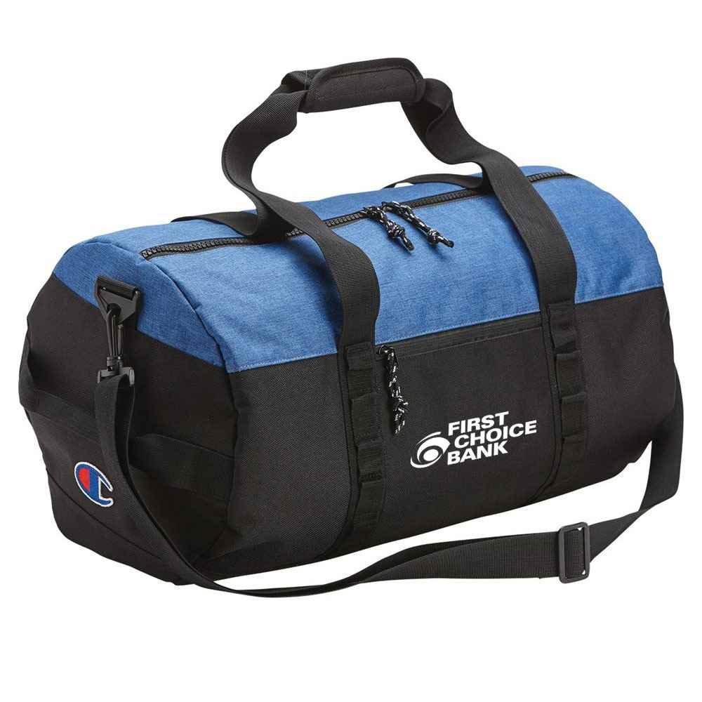 Champion® 34L Barrel Duffel Bag - Personalization Available