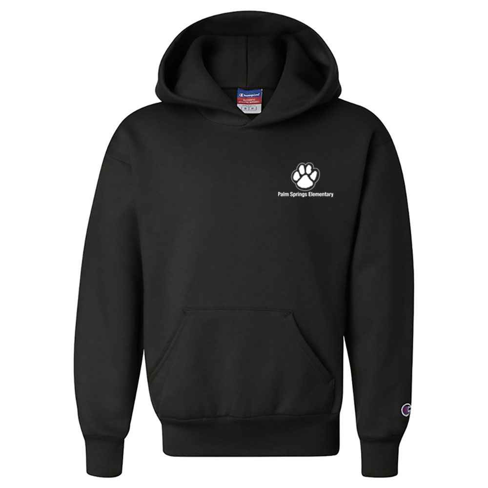 Champion® Double Dry® Eco Youth Hooded Sweatshirt - Personalization Available