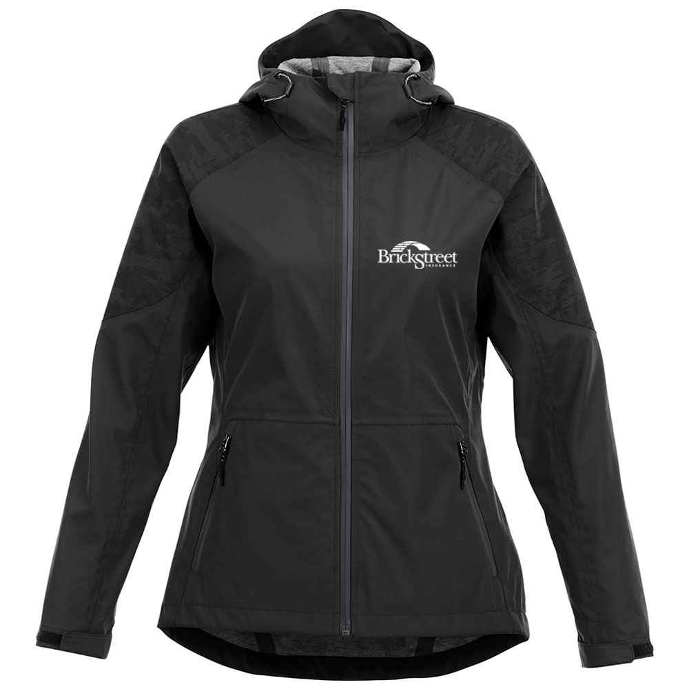 Elevate® Women's Index Soft Shell Jacket - Embroidery Personalization Available