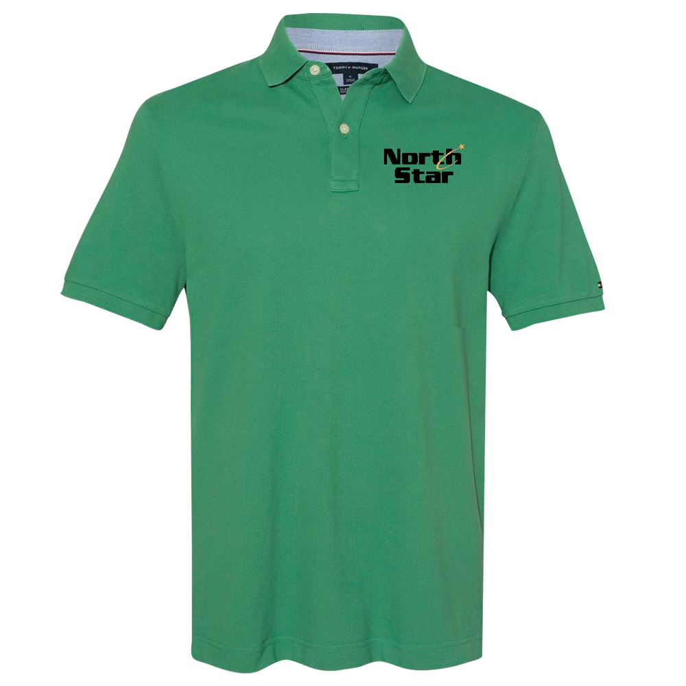 Tommy Hilfiger Men's Classic Fit Ivy Pique Sport Shirt - Personalization Available