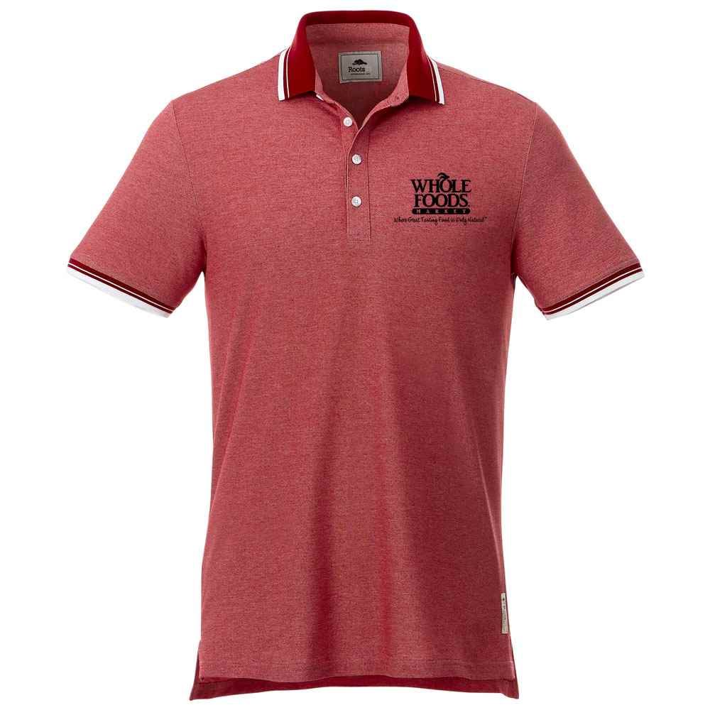 Roots73® Men's Limestone Polo - Embroidery Personalization Available
