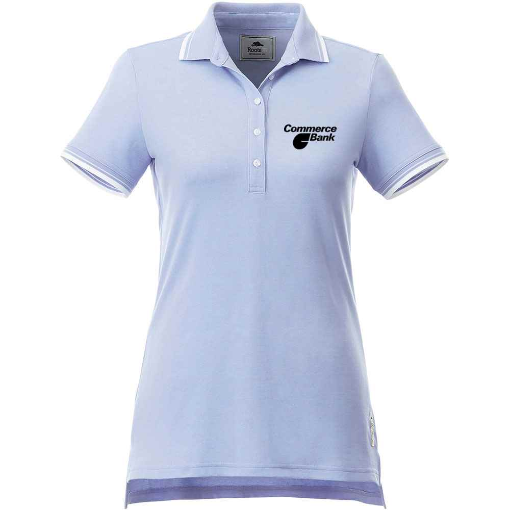 Roots73® Women's Limestone Polo - Embroidery Personalization Available