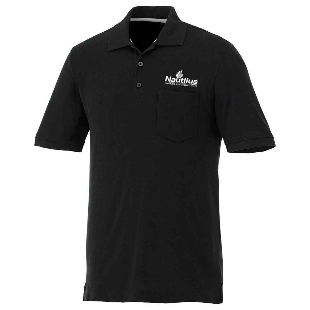 Elevate® Men's Banfield Short Sleeve Polo - Embroidery Personalization Available