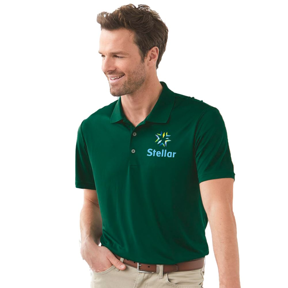 Adidas® Men's Luxe Performance Polo - Embroidered Personalization Available
